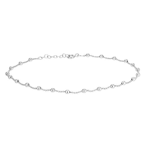 Silver Beaded Anklet - Product number 3374580