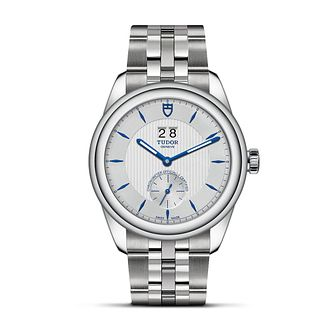 Tudor Glamour Double Date Stainless Steel Bracelet Watch - Product number 3374610