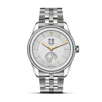Tudor Glamour Double Date Stainless Steel Bracelet Watch - Product number 3374637