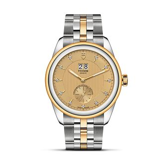 Tudor Glamour Double Date Two Tone Bracelet Watch - Product number 3374688