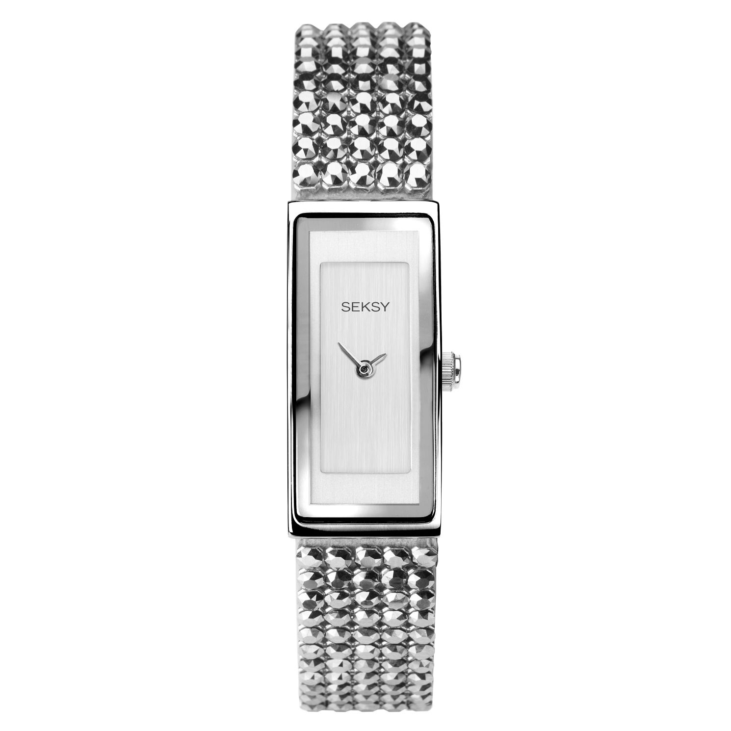 Seksy Shimmer Ladies' Crystal Bracelet Watch - Product number 3375463