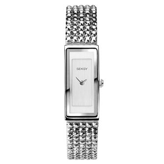 Seksy Shimmer Ladies' Swarovski Crystal Bracelet Watch - Product number 3375463