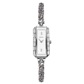 Seksy Rocks® Ladies' Swarovski Crystal Bracelet Watch - Product number 3375587