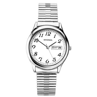 Sekonda Men's Stainless Steel Expander Bracelet Watch - Product number 3394344