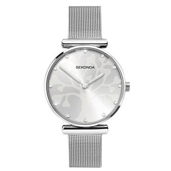 Sekonda Tree Of Life Ladies' Stainless Steel Bracelet Watch - Product number 3394727