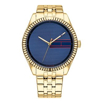 Tommy Hilfiger Lee Ladies' Yellow Gold Tone Bracelet Watch - Product number 3395375