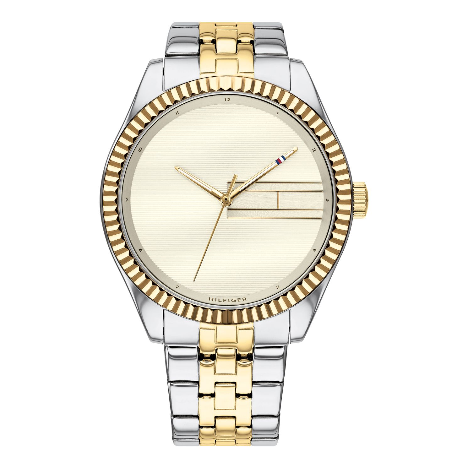 Tommy Hilfiger Lee Ladies' Two Tone Bracelet Watch - Product number 3395391