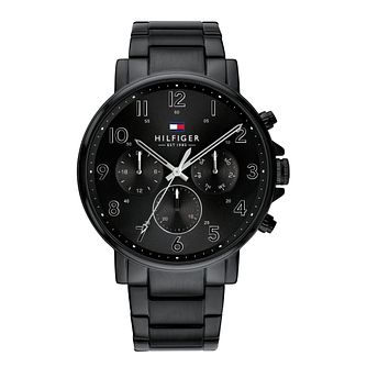 Tommy Hilfiger Daniel Men's Black IP Bracelet Watch - Product number 3395456