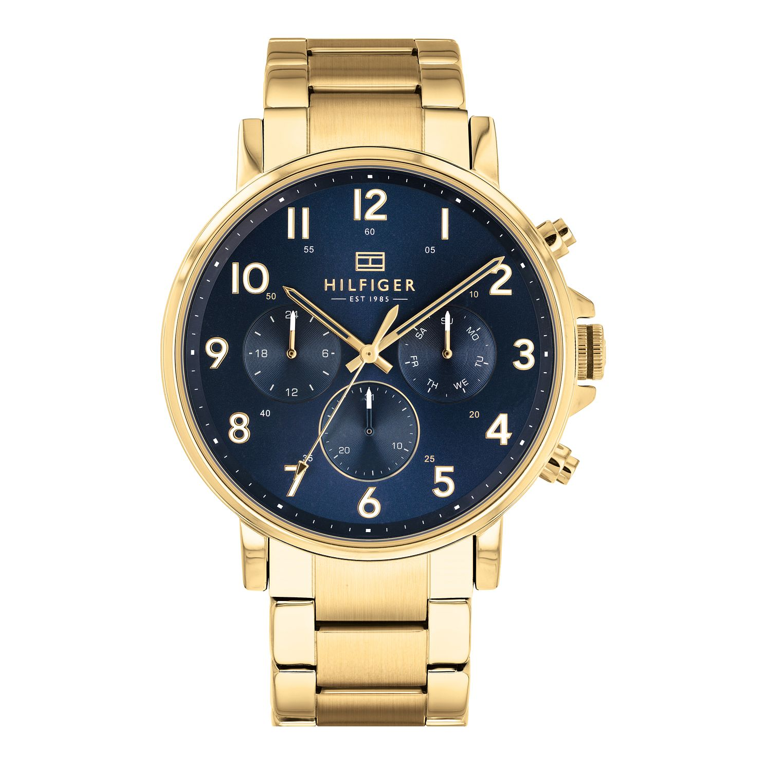 Tommy Hilfiger Daniel Men's Gold Plated Bracelet Watch - Product number 3395499