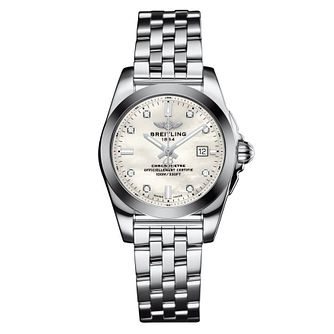 Breitling Galactic Stainless Steel Diamond Bracelet Watch - Product number 3395944
