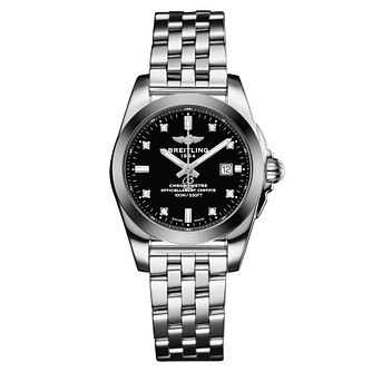 Breitling Galactic 29 Ladies' Black Dial Bracelet Watch - Product number 3395979