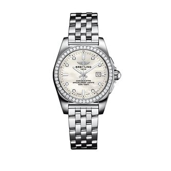 Breitling Galactic 29 Ladies' Mother Of Pearl Bracelet Watch - Product number 3396525