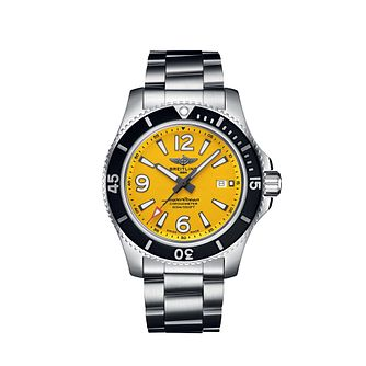 Breitling Superocean 44 Men's Stainless Steel Bracelet Watch - Product number 3396568
