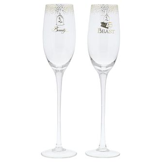 Disney Enchanting Bridal Belle Toasting Glasses - Product number 3397084