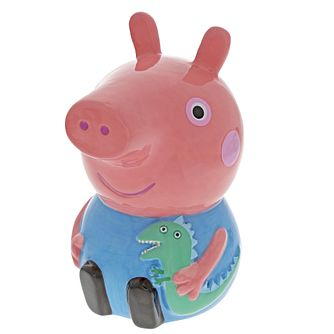 Peppa Pig Ceramic George Money Box - Product number 3397475