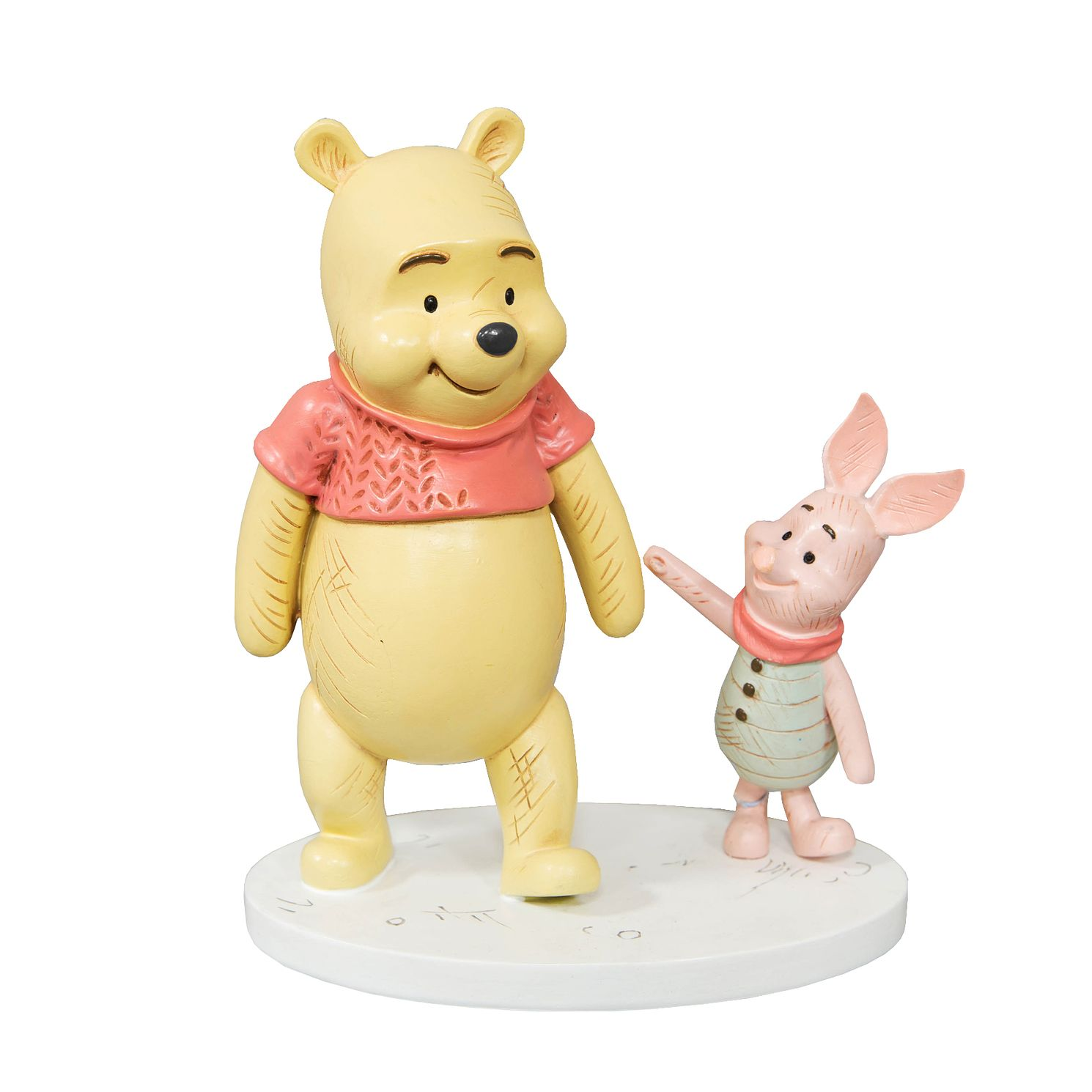Disney Christopher Robin Winnie The Pooh & Piglet Figurine - Product number 3398439