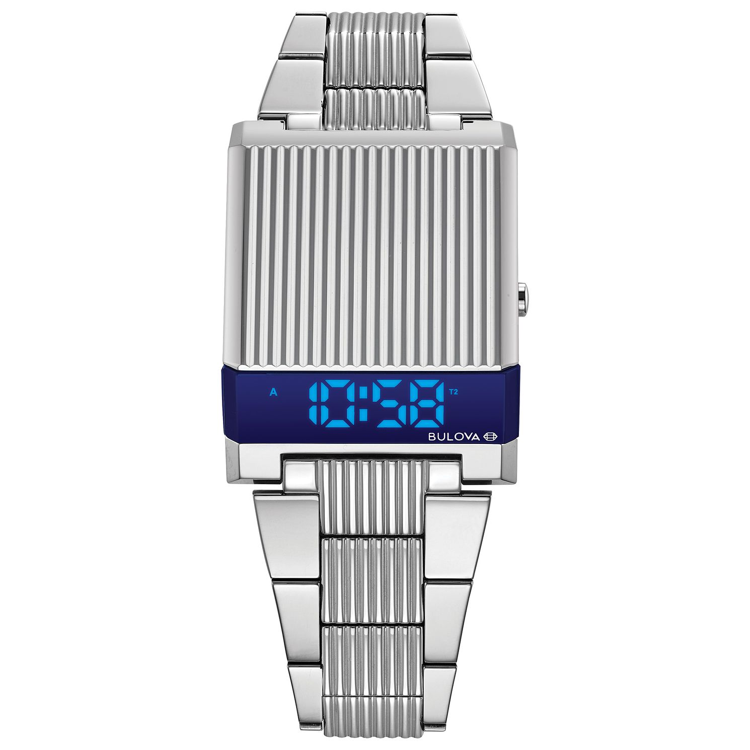 Bulova Computron Men's Stainless Steel Bracelet Watch - Product number 3398889
