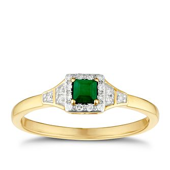 5a24d20d55de4 Green Graduation Wedding ring collection Coloured Chamilia Nature ...