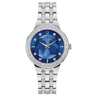 Bulova Marine Star Ladies' Stainless Steel Bracelet Watch - Product number 3404048