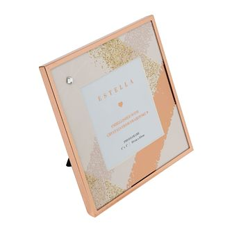 "Estella Rose Gold Tone Crystal 4"" x 4"" Photo Frame - Product number 3408736"