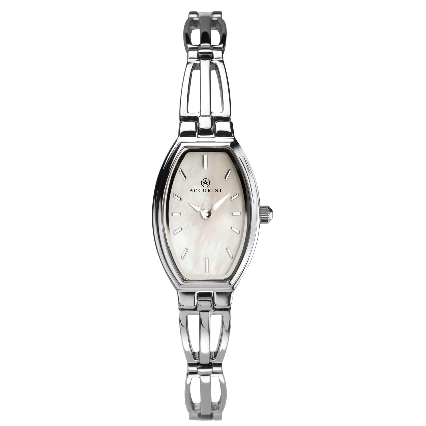 Accurist Ladies' Silver Tone Bracelet Watch - Product number 3418790