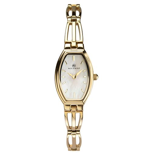 Accurist Ladies' Gold Tone Bracelet Watch - Product number 3418839