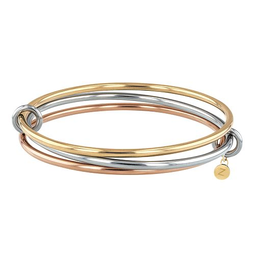 Tommy Hilfiger Tri Colour Stainless Steel Bangle - Product number 3424081