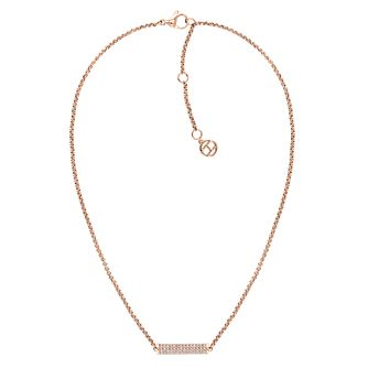 Sets Costume Jewellery Intelligent White Freshwater Pearl & Rose Gold Plated Chain Pendant Necklace