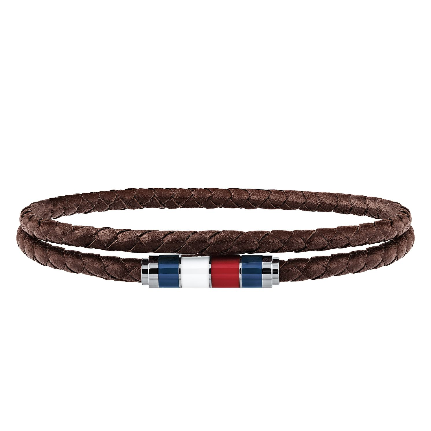 Tommy Hilfiger Men's Brown Leather Bracelet - Product number 3424219