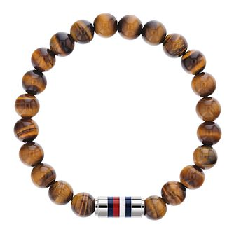 Tommy Hilfiger Casual Core Brown Bead Bracelet - Product number 3424235