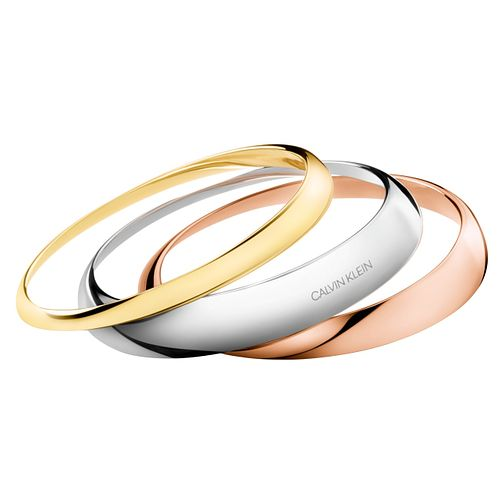 Calvin Klein Groovy Bangle Set Of 3 - Product number 3424596
