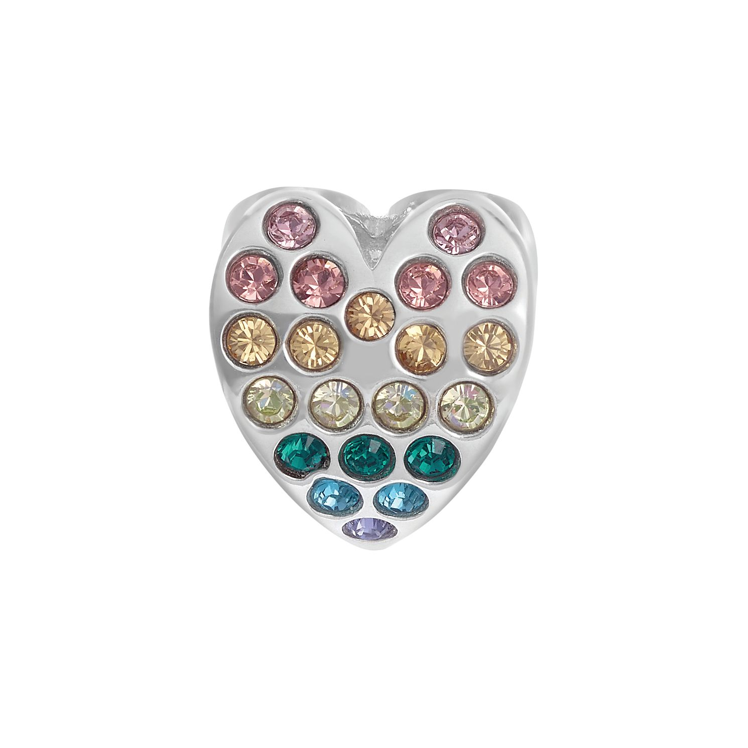 Chamilia Rainbow Heart Charm - Product number 3431347