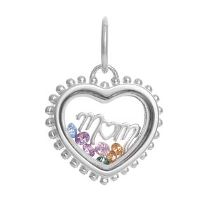 Chamilia Secret Message Heart Mum Swarovski Crystal Charm - Product number 3931994