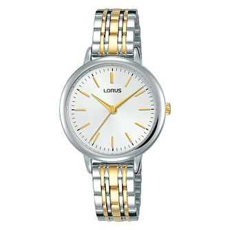 Lorus Ladies' Two Tone Bracelet Watch - Product number 3432424