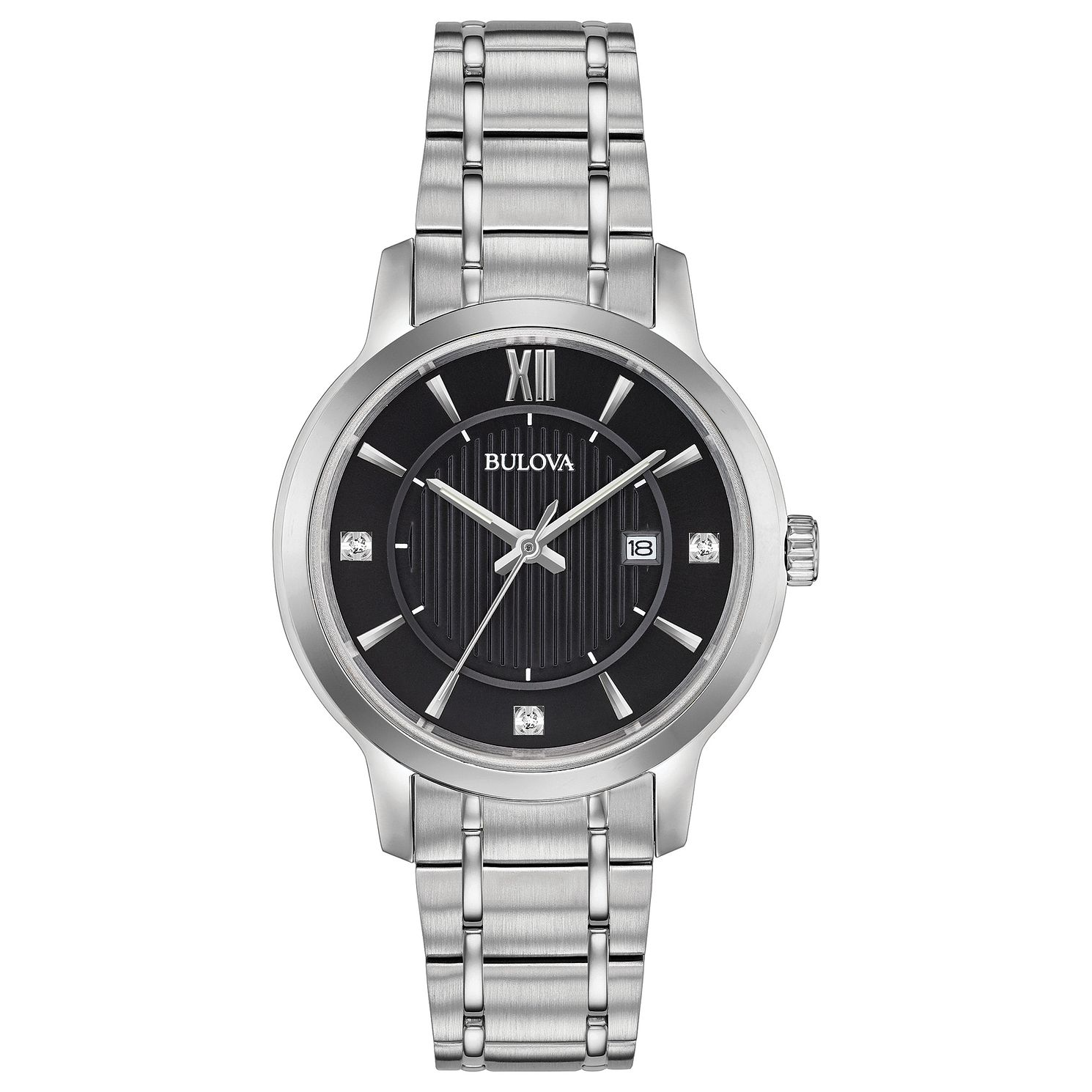 Bulova Classic Ladies' Stainless Steel Bracelet Watch - Product number 3432491