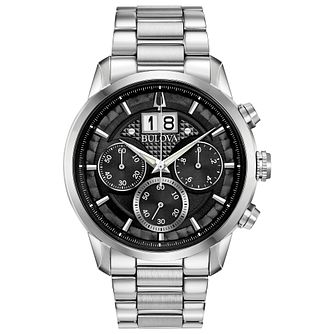 Bulova Sutton Men's Stainless Steel Bracelet Watch - Product number 3432564