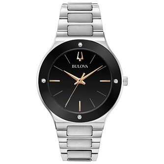 Bulova Modern Men's Stainless Steel Bracelet Watch - Product number 3432572