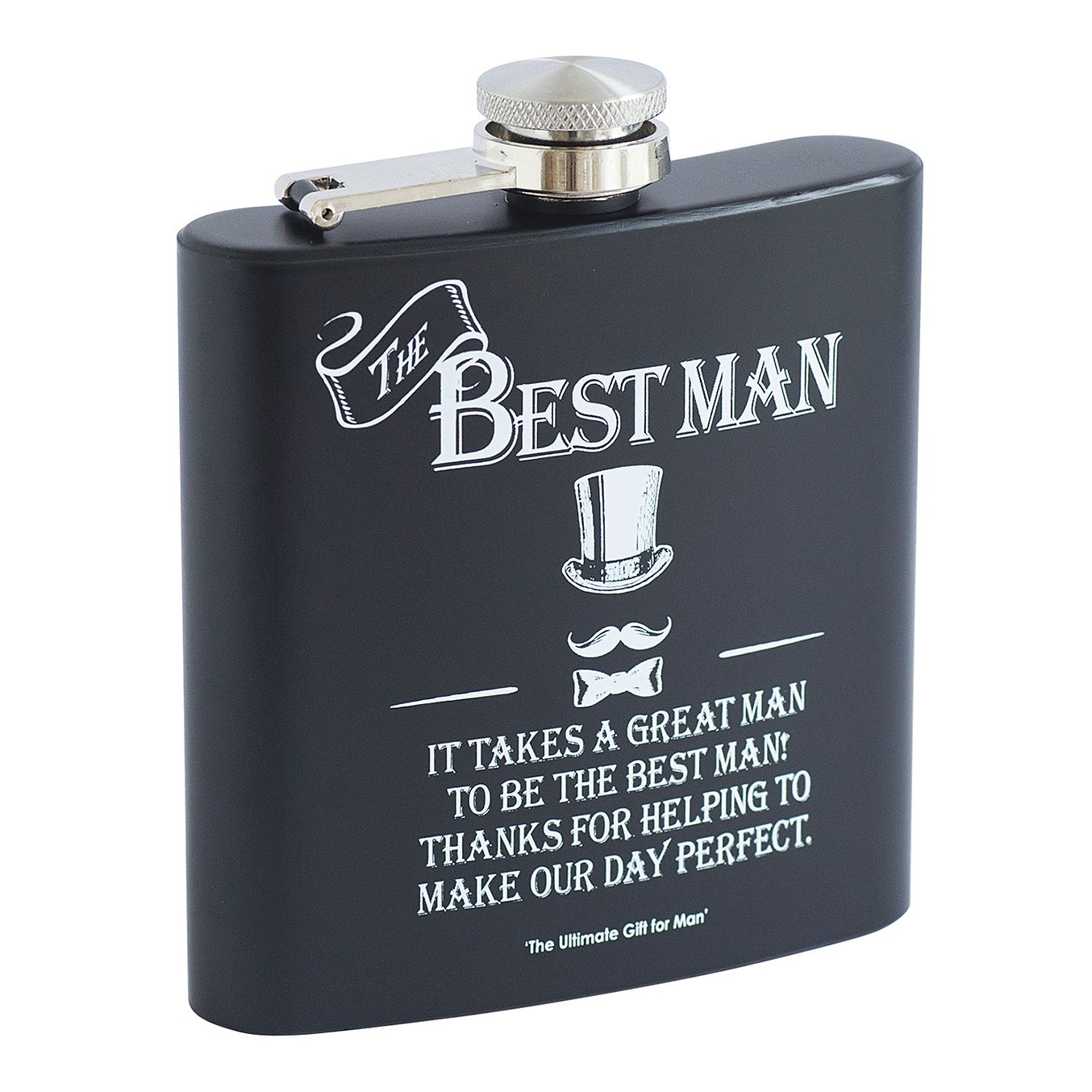 Ultimate Gift For Man Best Man Hip Flask - Product number 3432734