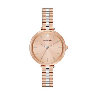 Kate Spade Holland Ladies' Two Tone Bracelet Watch - Product number 3436985