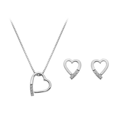 Hot Diamonds sterling silver open heart box set - Product number 3444244