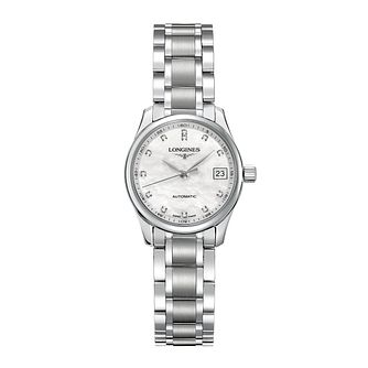 Longines Master Collection Ladies' Diamond Bracelet Watch - Product number 3447669