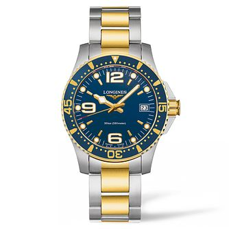 Longines HydroConquest Ladies' Two Colour Blue Dial Watch - Product number 3448126