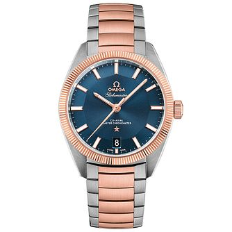 Omega Globemaster Men's Two Colour Bracelet Watch - Product number 3450171
