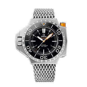 Omega Seamaster Ploprof 1200M Men's Mesh Bracelet Watch - Product number 3450775