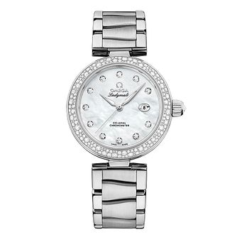 Omega Ladymatic Diamond Bracelet Watch - Product number 3451046