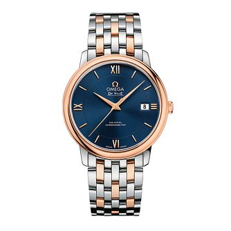 Omega De Ville Prestige ETNZ men's Two-Tone bracelet watch - Product number 3451232