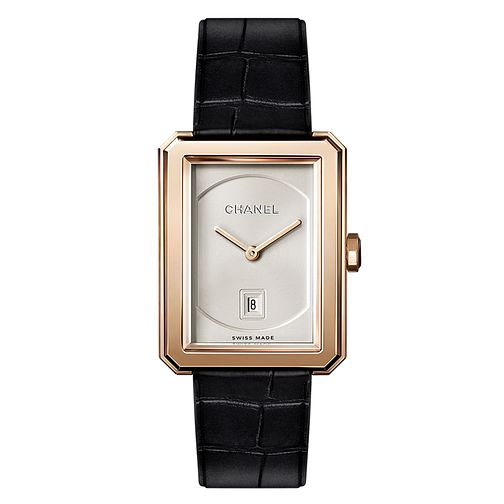 Chanel Ladies' Beige Gold Boyfriend Bracelet Watch Medium - Product number 3451712