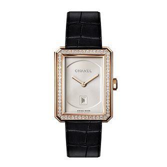 Chanel Ladies' 18ct rose gold Bracelet Watch Medium - Product number 3451860