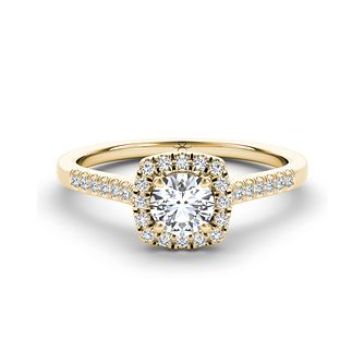 The Diamond Story 18ct Yellow Gold 0.66ct Total Diamond Ring - Product number 3458938