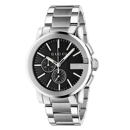 Gucci G-Chrono stainless steel bracelet watch - Product number 3460452